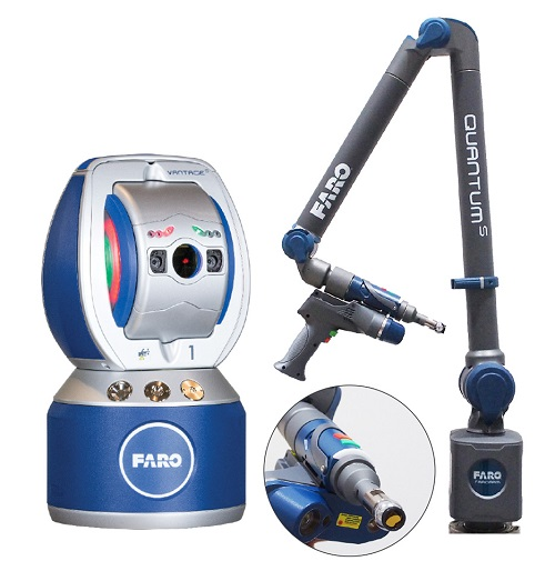 We offer a service with FARO Laser tracker